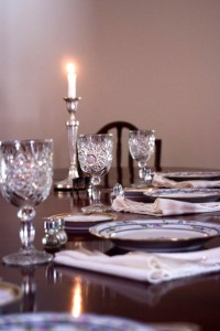 Susan Vasques Table Setting